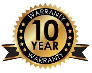 10 Year Wrranty- SEALY